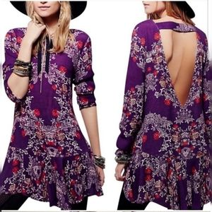 Free People Smooth Talker Tunic/Dress L